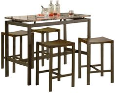 Found it at AllModern - Daryl 5 Piece Pub Table Set | 4th Ave (Liz ...