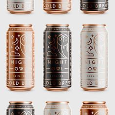#Beer #Can #Packaging #Copper #Packaging #Design