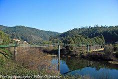 Ponte pedonal sobre o Rio Vouga - Portugal | Flickr – Compartilhamento de fotos!