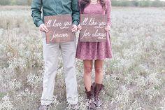 postcards and pretties: {real anniversary} christina + brock