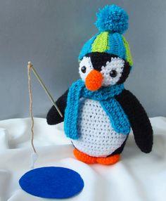 Amigurumi Oscar the Penguin