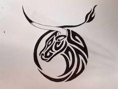 Tribal Taurus And Aries Tattoo Design photo 3 Designs Henna, Music Tattoo Designs, Tattoo Designs Men, Taurus Bull Tattoos, Capricorn Tattoo, Taurus Horoscope, Capricorn Facts, Zodiac Facts, Horoscope Tattoos