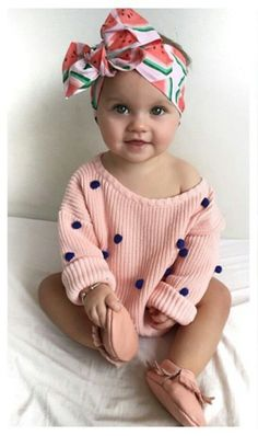 Really Cute Baby Girl Clothes - Then shopping for toddler girl clothing is probably one of your most pursuits in case you So Cute Baby, Baby Kind, Cute Babies, Adorable Baby Clothes, Cute Baby Stuff, Pretty Clothes, Cool Stuff, Fashion Kids, Baby Girl Fashion