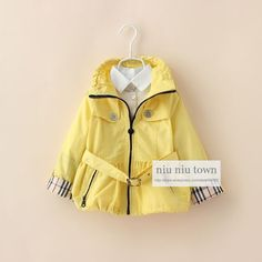 00092 TJ-7J118 Free shipping 6 pcs/lot Wholesale Child models fall color coat zipper large lapel coat thin http://www.aliexpress.com/store/1047972