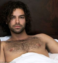 Definitely no 'scything' here...Aidan's chest hair looks distinctly more unkempt in this p...