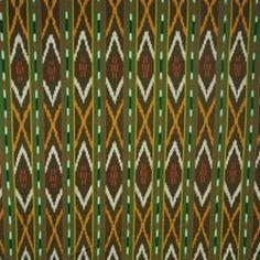 Genuine Handwoven Ikat - ML289158 - Green