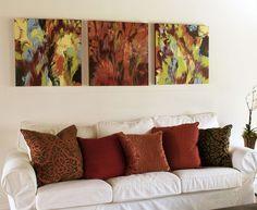 Diy Καταπληκτική σύγχρονη τέχνη από περίσσευματα χρωμάτων6