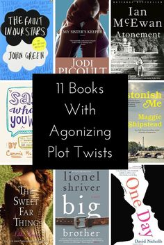Books with crazy plot twists