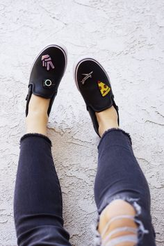 Summer Fashion - Give your Vans a DIY Makeover with the Patch Tutorial by Erin Aschow / Revenge Bakery!