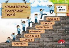 So simple, yet powerful image for kids who have a hard time getting to the next step.