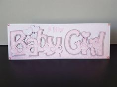 Check out this item in my Etsy shop https://www.etsy.com/uk/listing/611725027/new-baby-girl-card-matching-insert