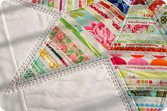 selvage star quilt