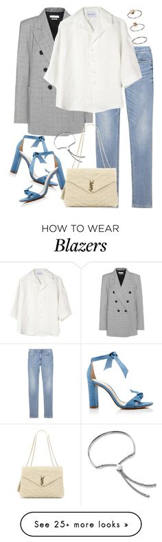 """""""Untitled #3040"""" by elenaday on Polyvore featuring Étoile Isabel Marant, Alexandre Birman, Monica Vinader, Can Pep Rey, Yves Saint Laurent and Topshop"""
