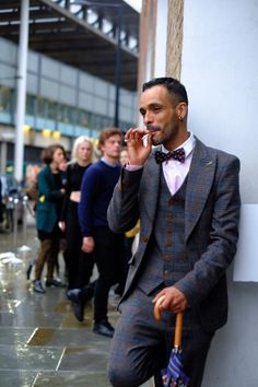 The Men of London Fashion Week, at the Vivienne Westwood show.