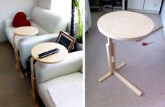 Convert Ikea FROSTA into a laptop table