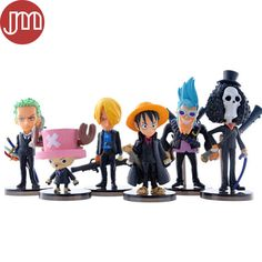 Find More Action & Toy Figures Information about New One Piece The New World Luffy Chopper Dolls Japanese Anime Figures Toy Set of 6pcs Kids Gift Brinquedos Juguetes,High Quality gift definition,China toy Suppliers, Cheap toy gift set from M&J Toys Global Trading Co.,Ltd on Aliexpress.com