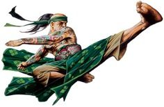 Flying Kick Monk - D