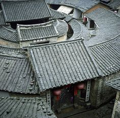Simple and Modern Tricks: Roofing Texture Pattern fabric roofing architecture. Roof Architecture, Chinese Architecture, Vernacular Architecture, Roof Extension, Roof Detail, Roof Tiles, Roofing Materials, House Roof, Cool Ideas