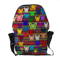 Custom design large Rickshaw bag Messenger Bags
