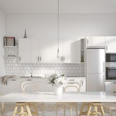 Retro Industrial Kitchens In New Project By Riksbyggen