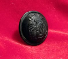 Vintage Kentucky Military Institute Cadet Button by VintonCo