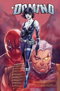Domino Vol 3 Cover F Incentive Rob Liefeld Variant Cover - Midtown Comics Arte Dc Comics, Marvel Comics Art, Marvel X, Marvel Heroes, Cosmic Comics, Marvel Women, Marvel Girls, Comics Girls, Comics Anime