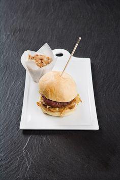 200ºC Plancha: Petit burger foie