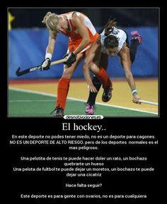 Resultado de imagen para hockey sobre cesped frases Nhl News, Field Hockey, Google, Quotes, Ideas, Tennis, Sports, Backgrounds, Qoutes