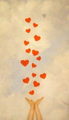 Happy birthday wishes you the way . high in the sky, with much love. I Love Heart, My Love, Happy Heart, Birthday Wishes, Happy Birthday, Birthday Quotes, Heart Art, Good Morning Quotes, Self Improvement