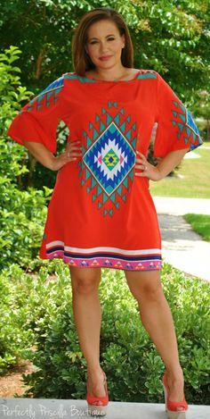 Perfectly Priscilla Boutique - Dream Catcher Dress, $50.00 (http://www.perfectlypriscilla.com/dream-catcher-dress/)