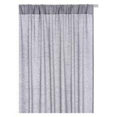 KITA Pair of grey curtains 140 x 230cm