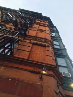 Greenwich Village apartment building, New York New York City Apartment, Greenwich Village, Red Bricks, Louvre, Patterns, Building, Inspiration, Block Prints, Biblical Inspiration