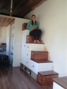1000 Images About Tiny House Stair Design On Pinterest