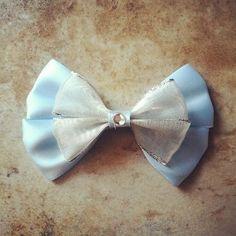 Cinderella Inspired Disney Hair Bow by BowsbyBryanne on Etsy, $8.00