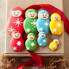 Nesting Doll Cookies