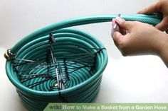 Image titled Make a Basket from a Garden Hose Step 9