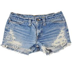 Ida short studded cut off shorts ($70) ❤ liked on Polyvore