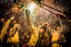Correfoc performance. Photo by Anibal Trejo -- National Geographic Your Shot