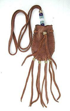 lakota deer skin medicine bag