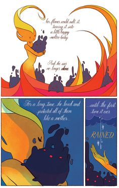 """Natasha Allegri. Page 2 from the official """"Adventure Time with Fionna and Cake"""" comic!"""