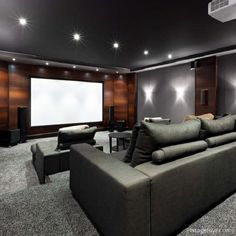 Salas Home Theater, Home Theatre, Home Theater Room Design, Home Cinema Room, At Home Movie Theater, Home Theater Rooms, Home Theater Seating, Theatre Design, Movie Theater Basement