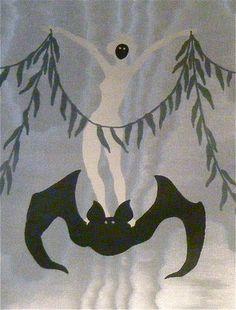 Dracula Wallpaper by Edward Gorey