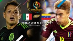 Copa America Centenario Match Recap | Mexico 1, Venezuela 1 | (June13th, 2016 @ NRG Stadium in Houston, TX) | Venezuela opened the scoring, with Jose Manuel Velazquez capping a well-worked free kick in the 10th minute by hitting a picture-perfect scissor kick.Jesus Manuel Corona scored the equalizer (80th min.) on a brilliant dribbling effort smoothly weaving through a few defenders before smacking a hard shot into the back of the net. Mexico claimed Group C  in an even and entertaining… Copa America Centenario, Free Kick, Defenders, Houston Tx, Affair, Effort, Kicks, Weaving, America's Cup