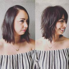 Top 60 Flattering Hairstyles For Round Faces Hairstyles For Round Faces Bob Hairstyles For Round Face Shaggy Bob Hairstyles