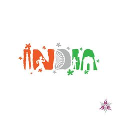 Free Premium Logo By Theziners For the ocassion of Republic Day, India. Independence Day Drawing, Independence Day Poster, Independence Day Decoration, 15 August Independence Day, Independence Day Wallpaper, Indian Independence Day, India Logo, Indian Flag Wallpaper, India Poster