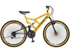 77abe151d Bicicleta Colli Bike Aro 26 21 Marchas - Dupla Suspensão Freio V-Brake