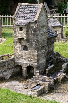 Model Village at Ryedale Folk Museum in Hutton-Le-Hole Village ~ North Yorkshire, England