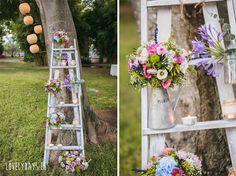 escalera-madera-decoracion-boda-rustica-vintage.jpg 800×597 píxeles