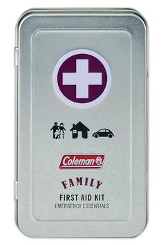 Coleman Family 82 Piece First Aid Kit Tin >>> For more information, visit image link.