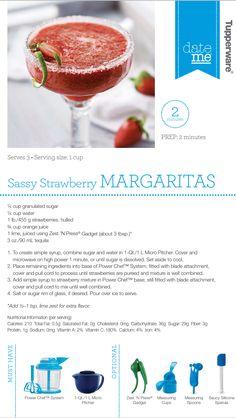 Sassy strawberry Margarita www.michelleathome.com #salsa #strawberry #margarita